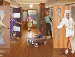 пространству Предоставление освободившихся комнат в коммунальных квартирах Потому, что